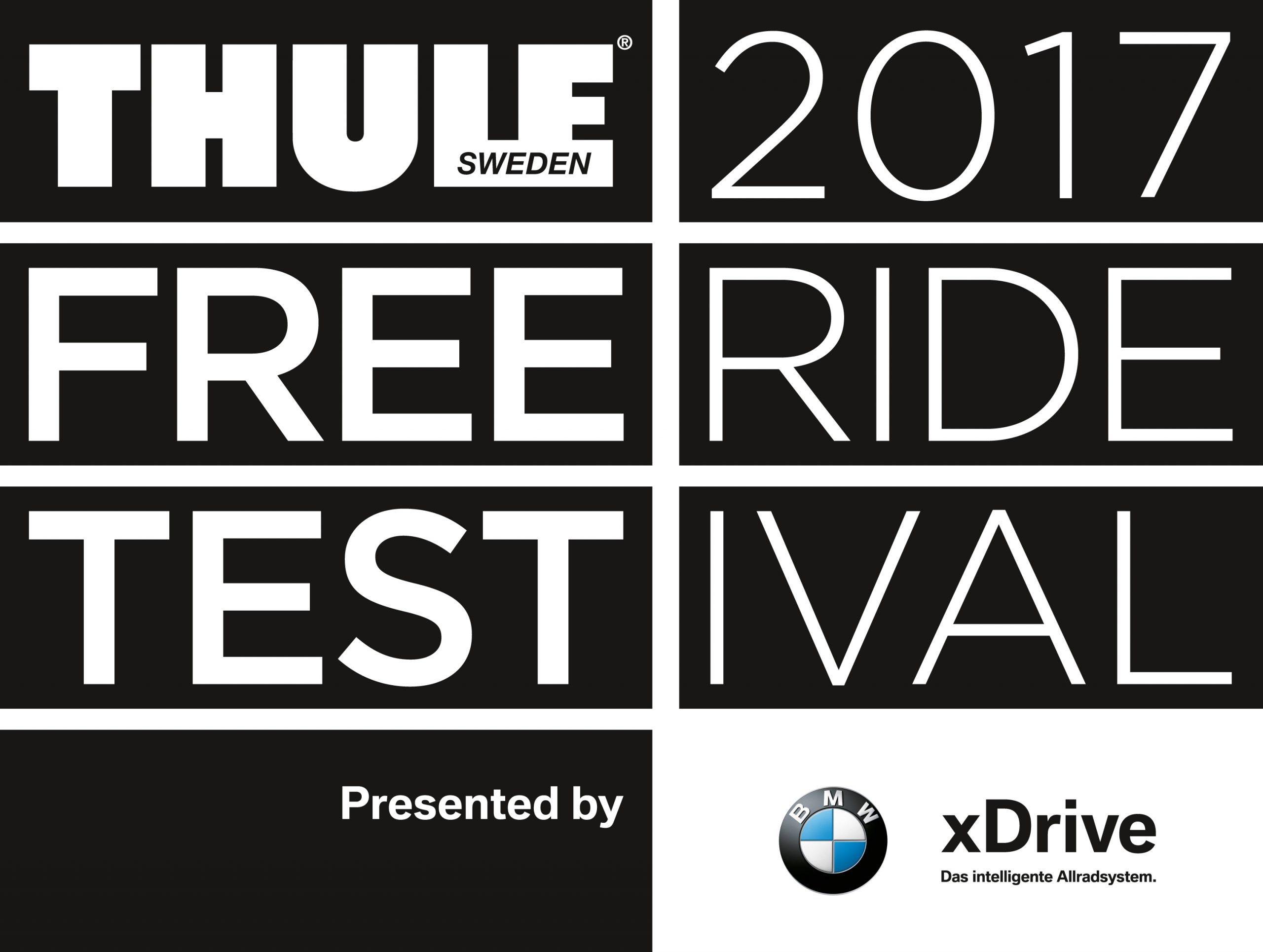 Logo THULE FreerideTestival presented by BMW xDrive