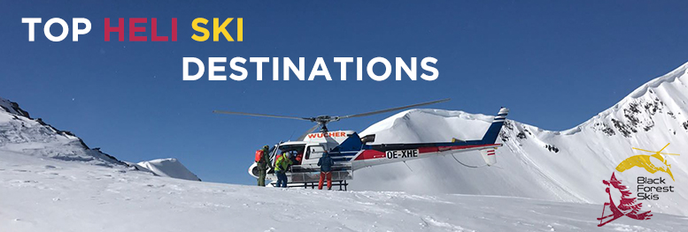 "TOP HELI SKI DESTINATIONS 2018 ""Off the beaten track"""